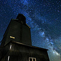 Reflective Moments  Photography and Digital Art Images - Grain Elevator