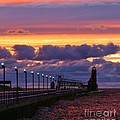 Linda Albonico - Grand Haven Lighthouse...