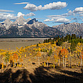 Kathleen Bishop - Grand Tetons in Autumn