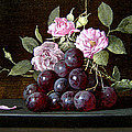 Stanislav Plonish - Grapes and Roses