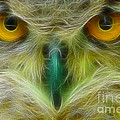 Gary Gingrich Galleries - Great Horned Eyes Fractal