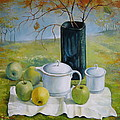 Elena Oleniuc - Green apples - Still life