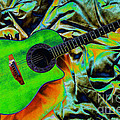 Shannan Peters - Green Guitar
