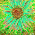 Shannan Peters - Green Sunflower