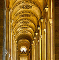 Cynthia Lagoudakis - Hallway at the Louvre in...