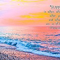 Julia Fine Art And Photography - Happiness Quote Mahatma...