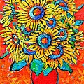 Ana Maria Edulescu - Happy Sunflowers
