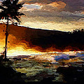 Anthony Fishburne - Hawaiian sunrise