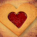 Matthias Hauser - Heart shaped cookie with...