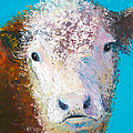 Jan Matson - Hereford Cow named Grace