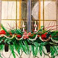 Renee Michelle Wenker - Holiday Decorated Window...