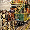 Tony Crehan - Horse Drawn Tram at...