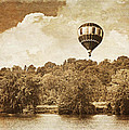 Brooke Ryan - Hot Air Balloon in Sepia