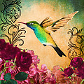 April Moen - Hummingbird I