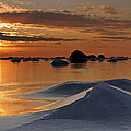Peter Samuelsson - Ice volcano at sunset