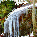 Peggy  Franz - Icy Waterfall