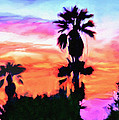 Bob and Nadine Johnston - Impression Desert Sunset...