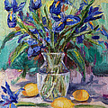 Jennifer Beaudet - Irises and Lemons