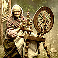 Digital Reproductions - Irish Spinning Wheel