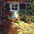 David Lloyd Glover - Iron Patio Chair
