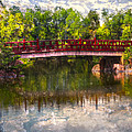 Debra and Dave Vanderlaan - Japanese Gardens Bridge