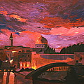 M Bleichner - Jerusalem at Sunset