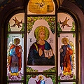 Claud Religious Art - Jesus with Archangels