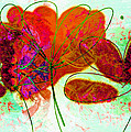 Ann Powell - Joy flower abstract