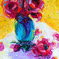 Talya Johnson - Just Past Bloom - roses...