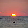 Bill Cannon - Kayaker at Sunrise New...