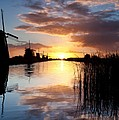 David Bowman - Kinderdijk Sunrise