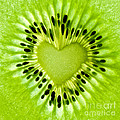 Delphimages Photo Creations - Kiwi heart
