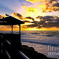 Diana Sainz - La Jolla at Sunset By...