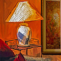 Ted Guhl - Lamp and Painting Still...