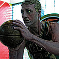 Mike Martin - Larry Bird at Hall of...