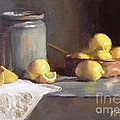 Viktoria K Majestic - Lemons in copper pan