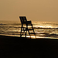 Bill Cannon - Lifeguard Chair in the...