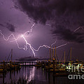 Dawna  Moore Photography - Lightning over...