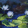 Susan Richardson - Lilies In The Spotlight
