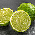 Palatia Photo - Limes on a slate plate
