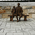 Sally Weigand - Lincoln and Son Statue