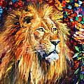 Leonid Afremov - Lion of Zion