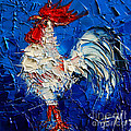 EMONA Art - Little White Rooster