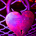 Kym Backland - Lock Of Love In Pink