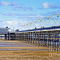 David Hill - Long seaside pier at...