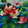 Min Wang - Lotus Dragon Fly A