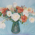 Asha Carolyn Young - Love Bouquet in White...