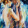 Leonid Afremov - Love - PALETTE KNIFE...
