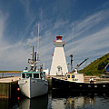 Bob Swanson - Mabou Harbor lighthouse