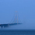 Rachel Cohen - Mackinac Bridge in Fog